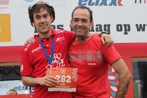 Bert en Niels lopen ook dit jaar de Marathon van New York.