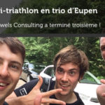 Pauwels Consulting Teamwork : Le demi-triathlon en trio d'Eupen