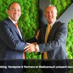 Pauwels Consulting, Vandycke & Partners et Mediconsult unissent leurs forces